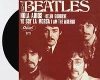 THE BEATLES Hello, Goodbye Vinyl Record 7 Inch Capitol 2019